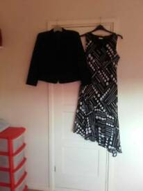 Ladies dress and jacket