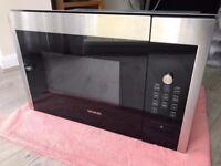 Siemens HF24M564B Built In Stainless Steel Microwave