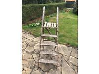 Vintage decorators step ladders 80 years old