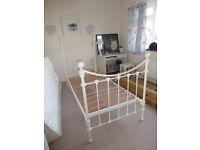 Laura Ashley Hastings Ivory Metal Bed Frame