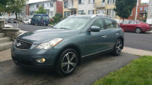 2008 Infiniti EX35 luxery  GPS CUIRE TOIT  MAG