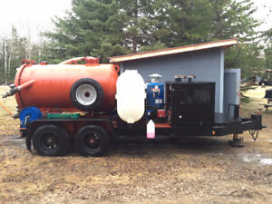 Ditch Witch Hydro Vac System