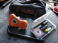alko caravan wheel lock high security anti theft
