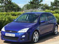 FORD FOCUS 2.0 RS 3d 215 BHP (blue) 2003