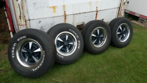 Rally II rims 15 X 6 X 4.75