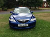 Mazda 6 TS low mileage hpi clear excellent drive