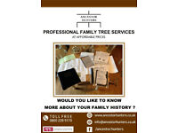 Professional Family Tree History Research At Affordable Prices - Ancestor Hunters