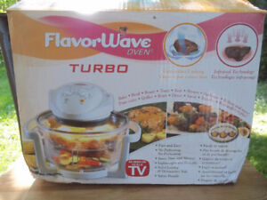 Flavorwave Turbo Oven, Accessories, Easy To Use, Easy To Clean,