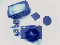 Lomo LC-A+ Camera with 20mm wide angle lens
