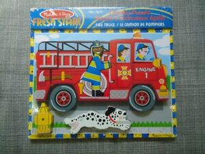 Melissa and Doug fire truck Puzzle new sealed giftable