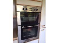 Kenwood double oven and Zanussi gas hob