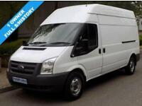 61(11) FORD TRANSIT 350 LWB HIGH ROOF 2.2 FWD 115 BHP 6 SPEED EURO 5