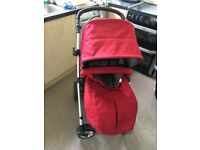 Mamas and papas red pushchair