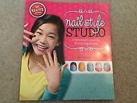 Klutz Nail Style Studio Simple Steps to Painting 25 Stunning designs book Steele