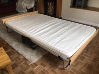 Jay Be Double 4FT LUXURY Guest Folding Bed Sprung Slatted Base