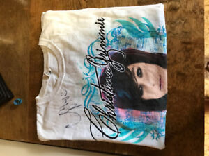 Christina Grimmie Signed T-Shirt