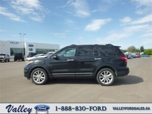 QUAD CAPTAINS CHAIRS & CLASS III TOWING! 2013 Ford Explorer LTD