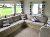 LUXURY BRAND NEW CARAVANS FOR SALE ON THE NORTHUMBERLAND COASTLINE SITUATED ON CRESSWELL TOWERS