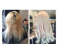 FREE platinum blonde hair @ Toni & Guy