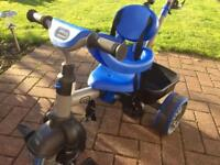 Little Tikes 4-in-1 Basic Edition Trike, Blue rrp £120