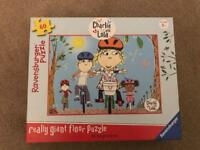 CHILDREN'S CHARLIE AND LOLA Really Giant Floor Puzzle / Jigsaw; Ravensburger