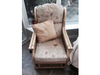 Bamboo/wicker conservatory furniture inc.cushions