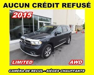 2015 Dodge Durango LIMITED ** CUIR + A/C TRI-ZONE **