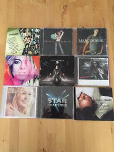 64 CD Variés