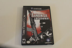 Rainbow Six Lockdown Nintendo Game Cube