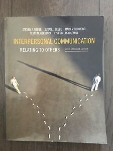 Interpersonal Communication textbook