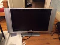 """30"""" HD tv with large speakers + Freeview box"""