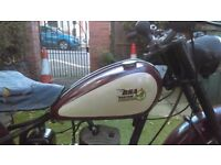For sale is my bsa bantam d1