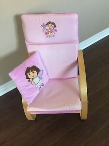 Dora the Explorer Sway Style wooden rocking  chair