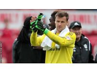 GOALKEEPING COACHING/PLUS CLUB VISITS FOR GOALKEEPING SESSIONS