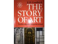 Art History books Gombrich, Honour & Fleming, Hughes, Pevsner for interest and A level