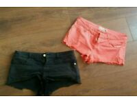 Topshop size 12 shorts