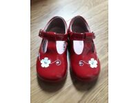 Startrite red patent shoes 3.5F child