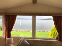 Fantastic Pitch Stunning Location DG GCH High spec 2 Bed Holiday home for sale