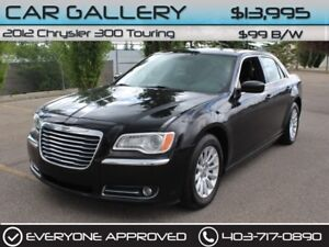 2012 Chrysler 300 Touring  $99B/W QUICK  EASY FINANCING-INSTANT