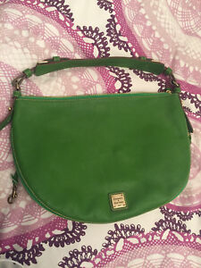 Green Leather Dooney and Bourke Purse