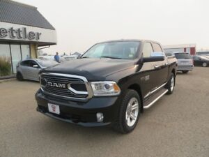 2016 RAM 1500 LIMITED ECO-DIESEL! EXTENDED WARRANTY! NEW TIRES!