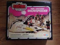 Various Star Wars original toys with original packaging