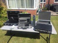 Assorted storage cases