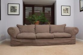 4 seater bespoke sofa in good condition. Must sell this week.