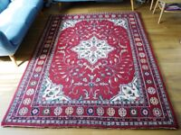 Beautiful large Red Wool Rug
