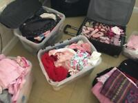 Bundle/joblot of girls clothes