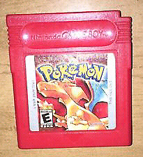 Pokemon red for game  boy