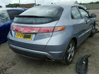 BIG VARIETY OFF PARTS AVAILABLE FOR 2006 HONDA CIVIC EX ENGINE GEARBOX BODY PARTS