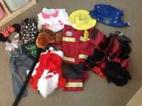 Selection of Boys & Girls Fancy Dress Outfits