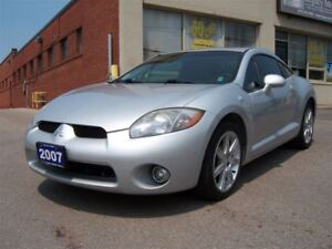 2007 Mitsubishi Eclipse GT V6 Leather/Sunroof/Automatic